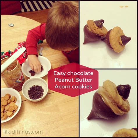 4 Letter Words Acorn easy acorn cookies to make with just is a four