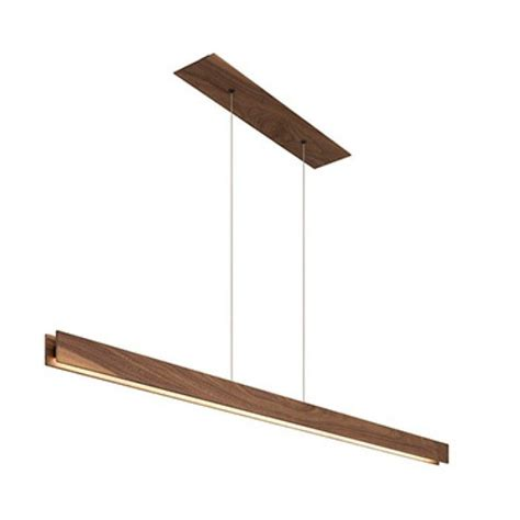 linear suspension lighting fixtures edge lighting glide wood center feed led architectural