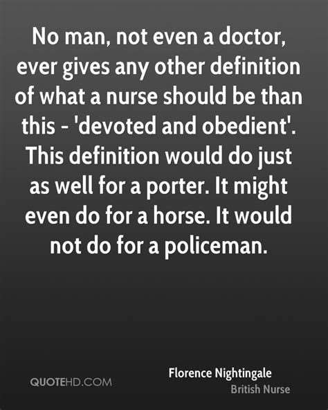 Definition Of A by Florence Nightingale Quotes Quotehd