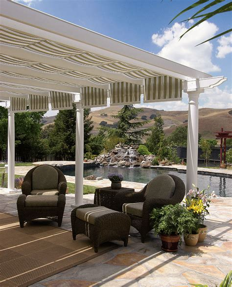 pergola with awning how to make a pergola cover gazebo