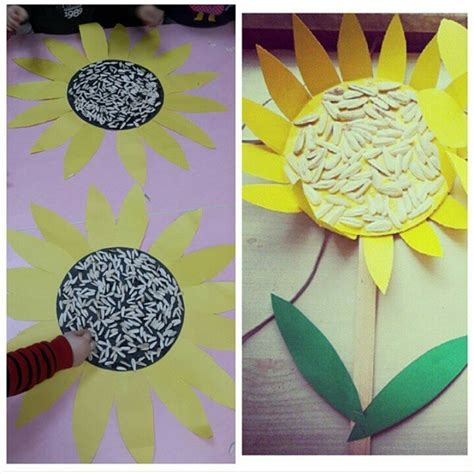 plant crafts for flower craft idea for crafts and worksheets for