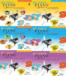New Faber My First Piano Adventures 6 Pack Lesson Book W