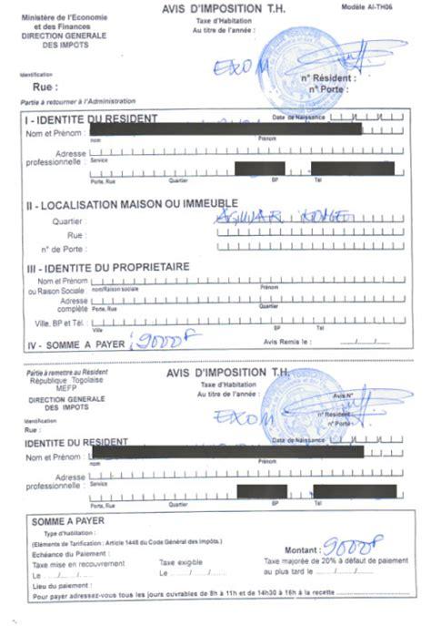 Modele De Lettre Exoneration Taxe Habitation Modele Quittance Taxe Fonciere Document