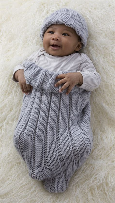 knitting baby baby cocoon snuggly sleep sack wrap knitting patterns