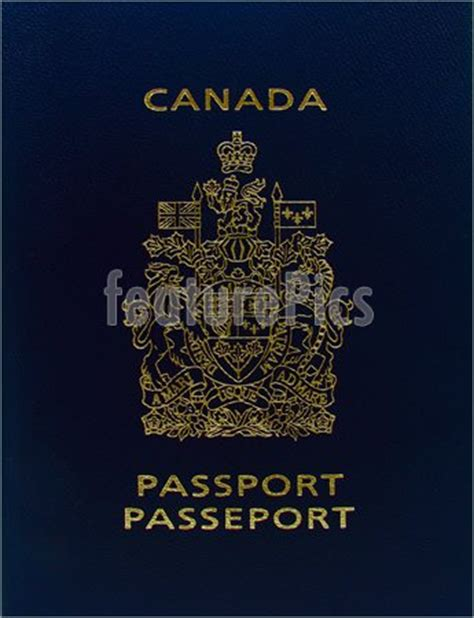 Canadian Passport Office by Office And Up Canadian Passport Stock Picture