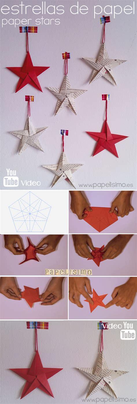 como hacer estrellas de navidad bicho en la ciudad estrellas de papel