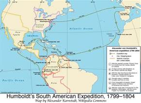 map of south america with latitude and longitude humboldt s american expedition