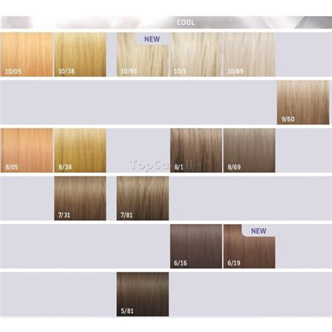 wella illumina color chart tinte wella illumina color topcabello tienda de