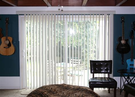 curtains with vertical blinds moms eat cold food hanging curtains on a vertical blind track