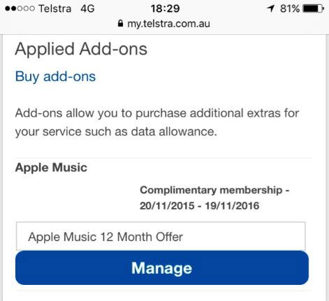 """12 month apple music & """"you do not have a subscrip"""