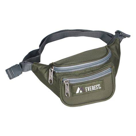 1 Kg Black Jade Pak Nurwachid signature waist pack junior everest bag