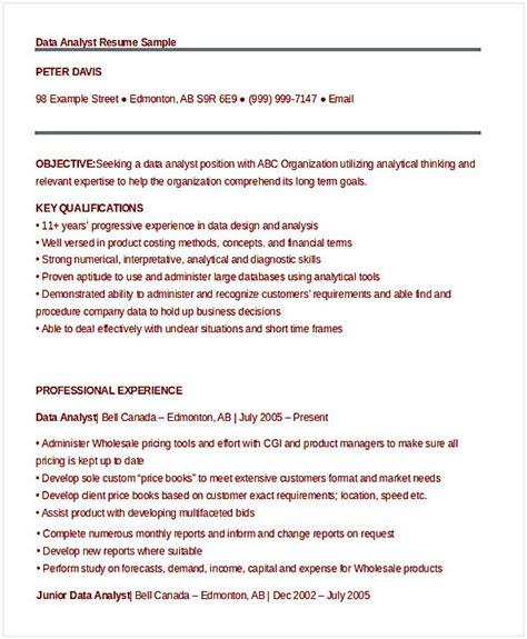 Data Analyst Resume Entry Level