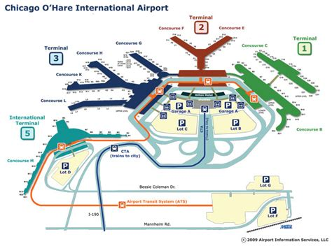 ord terminal map outside the fence chicago o hare airport from allegiant cartography more