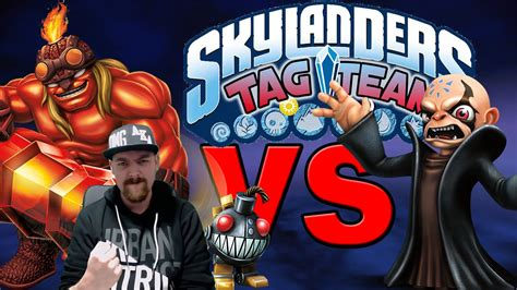 Kaos Deutscher handicap skylanders tag team ka boom grinadge vs