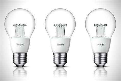 clear led light bulbs philips clear led light bulb hiconsumption