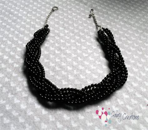 Handmade Necklace Tutorial - handmade necklace tutorial gabry creations
