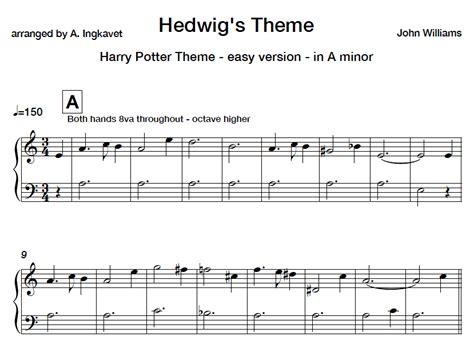 theme songs piano harry potter theme easy piano sheet music the