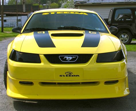 2000 Steeda Mustang by Zinc Yellow 2000 Ford Mustang Gt Steeda Coupe