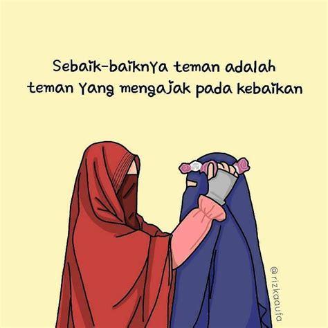 Kartun Hijab Bertopi Koleksi Gambar Kartun Ana Muslim Dan Muslimah