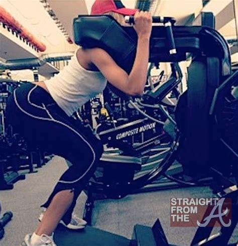ciara work ciara work out 062212