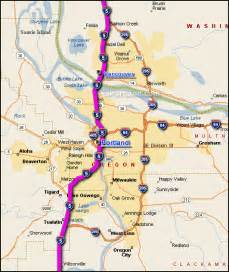 i 5 portland traffic maps and road conditions