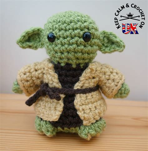 pattern crochet yoda crochet yoda pattern creatys for