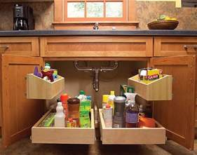 Spice Rack Inside Pantry Door Creative Under Sink Storage Ideas Hative