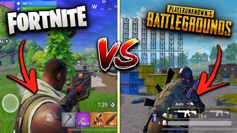 fortnite vs pubg mobile fortnite mobile vs pubg mobile which is better