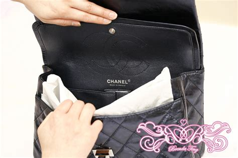 Chanel O Navy Blue Caviar Shw Series 21 Fullset Large Size post your blue chanel items here page 7 purseforum