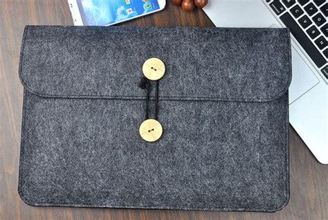 Sarung Laptop Cover Felt Sleeve Tablet Handcrafted Berkualitas felt laptop sony laptop bag felt sleeve 11 13 inch