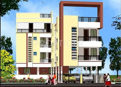 residential appartments 2 bhk cluster plan image om shakthi construction