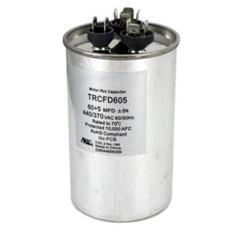 home depot ac start capacitor ac start capacitor home depot 28 images packard 440 volt 30 5 mfd dual motor run capacitor