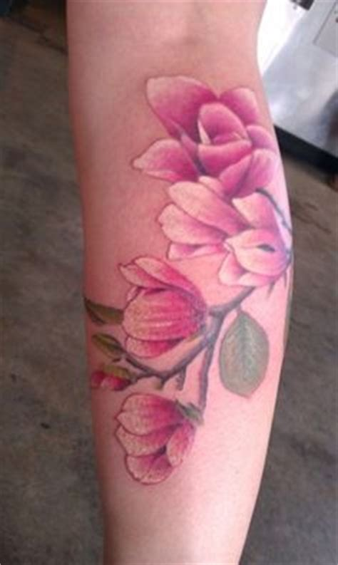 watercolor tattoos tallahassee magnolia on dogwood dogwood