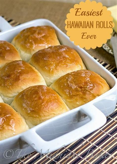 Bread Machine Hawaiian Sweet Rolls Easy Hawaiian Rolls Awesome Bread Recipes