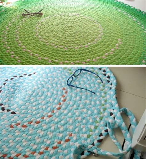 recycled t shirt rug 20 ways to turn regular trash into gorgeous home accents