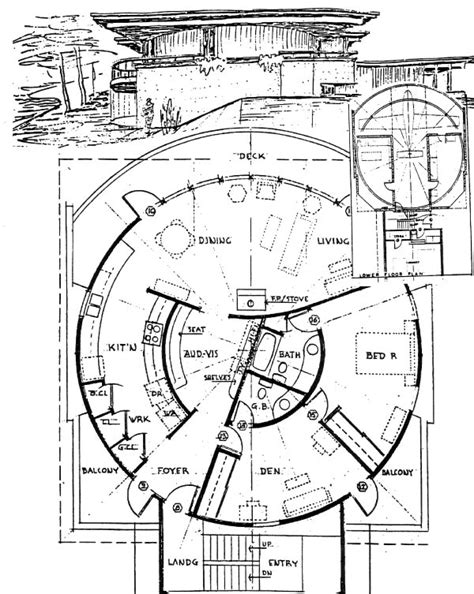roundhouse floor plan round home floor plans gurus floor