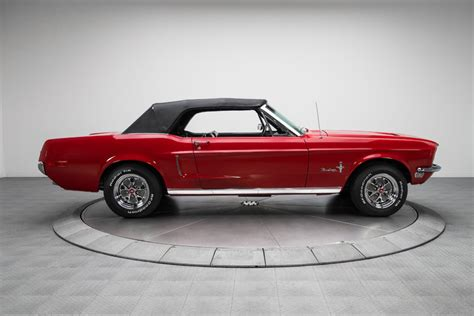 what happened to the ford mustang used in the steve 134566 1968 ford mustang rk motors