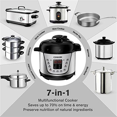 cosori pressure cooker cookbook the complete cosori pressure cooker recipe book books cosori mini 7 in 1 multifunctional programmable pressure