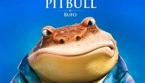 epic film bufo pitbull is bufo in upcoming animated feature epic las