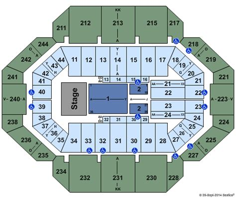 rupp arena concert seating rupp arena concert seating chart rupp arena concert