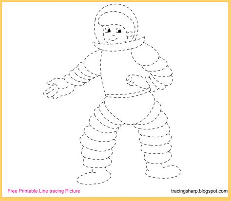 printable tracing lines astronaut printable worksheet pics about space