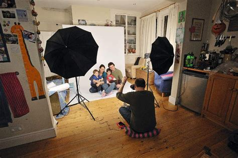 home photo studio on garage photography studio