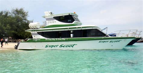 scoot boat to nusa penida fastboat scoot cruise nusa lembongan gili lombok