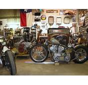 Chopper Bobber Cafe Racer Brst Style Harley Davidson Bsa