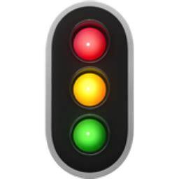 vertical traffic light emoji (u+1f6a6)