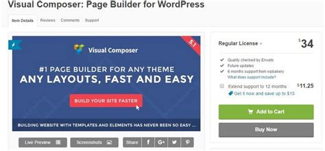 20 Great Wordpress Plugins For Successful Internet Marketers Today Visual Composer Landing Page Template