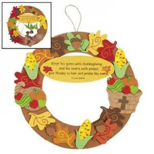 Bible Thanksgiving Crafts Christian Thanksgiving Wreath Craft Idea For Kids Jr