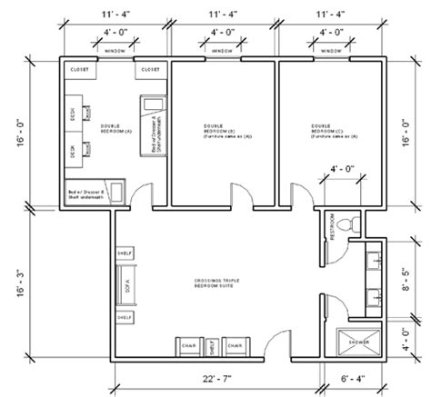 Presidents Hall Layout