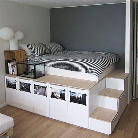 small space bedroom solutions underbed storage solutions for small spaces captains bed 17335 | 84af211d5420cc792e4023622a9cf69a