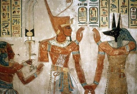 imagenes pinturas egipcias pinturas de ultratumba tumba de tutankamon
